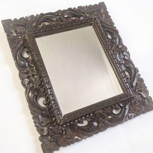 Wood Frame Mirror